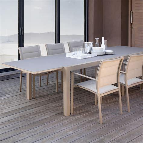 tavoli allungabili da pranzo tavolo da pranzo allungabile per esterni touch 220 330 cm