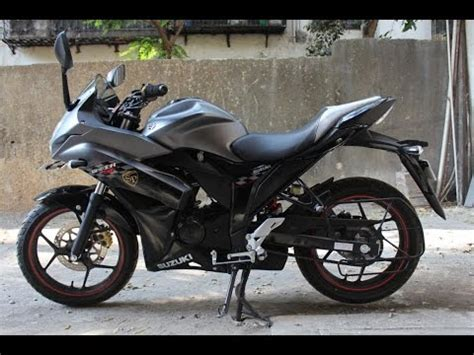 Wnew New New Sf S7 Special 2017 new suzuki gixxer sf sp special edition matte gray color walkaround