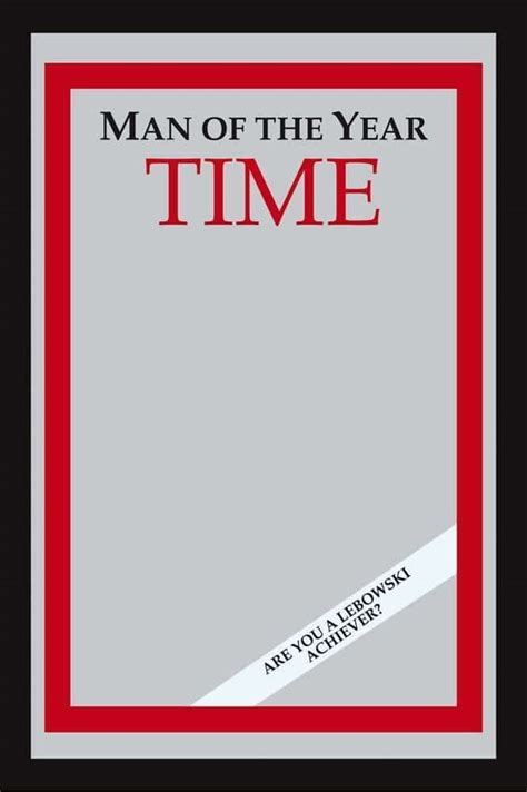 magazine design of the year time man of the year mirror from big lebowski asks the