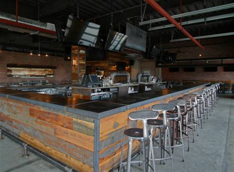 social custom bar top and misc metals metal