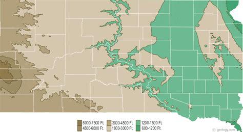 physical map of south dakota south dakota physical map and south dakota topographic map