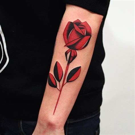 red and black tattoos and black tattoos golfian