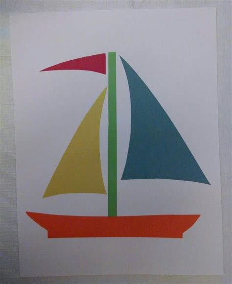 boat shapes craft 1000 images about gangway to galilee vacation bible