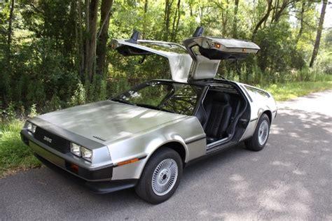 delorean back seat 1983 dmc delorean