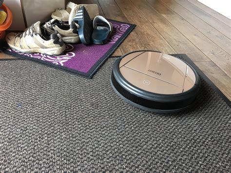 staubsauger roboter teppich ecovacs deebot d83 auf fussmatte 2