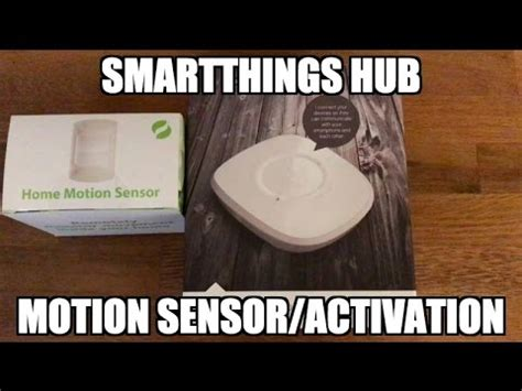 smartthings fan light smartthings hub and motion detectors fans lights