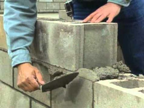 Types Of Foundations For Houses by Building A Concrete Block Foundation Bob Vila Youtube