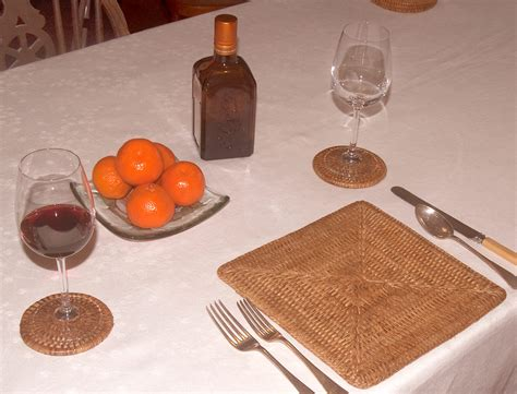 square placemats for table square rattan placemats