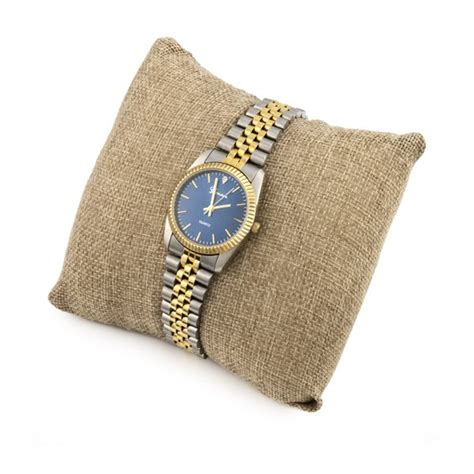 Jewelry Pillow burlap jewelry display pillow for bracelets and watches