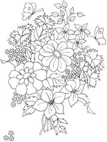 beautiful flower coloring pages beautiful flower bouquet coloring page color