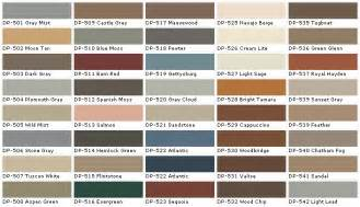 paint colors the flat decoration