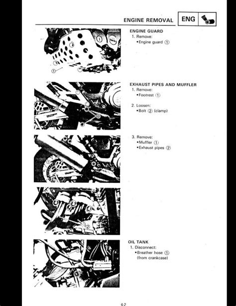 Yamaha Xtz750 Motocycle Service Repair Workshop Manual A