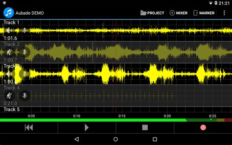 android recording studio aubade audio studio android apps on play