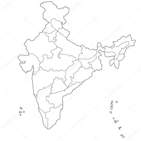 india map vector map of india stock vector 169 belyaev71 56420735