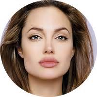Short haircuts for square shaped face angelina jolie