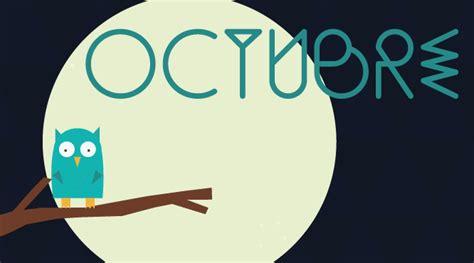 imagenes de octubre para niños calendario descargable octubre silo creativo