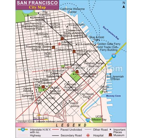 san francisco map rds 6 visual hierarchy