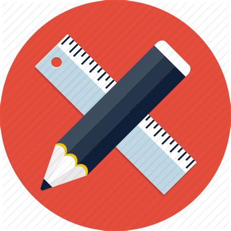 icon design pencil rule streamline design graphic pen pencil rule ruler webdesign icon