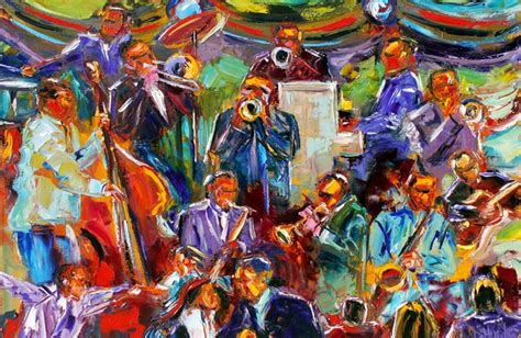 debra hurd original paintings  jazz art jazz art figurative abstract  painting musical