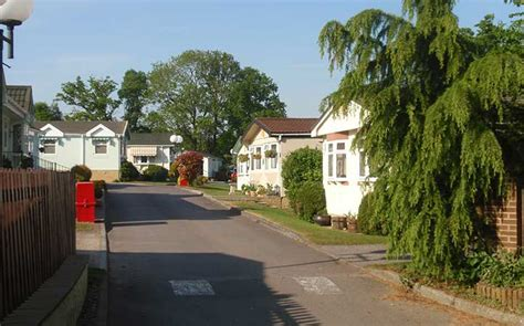 sleepy hollow park retirement mobile home park tadworth