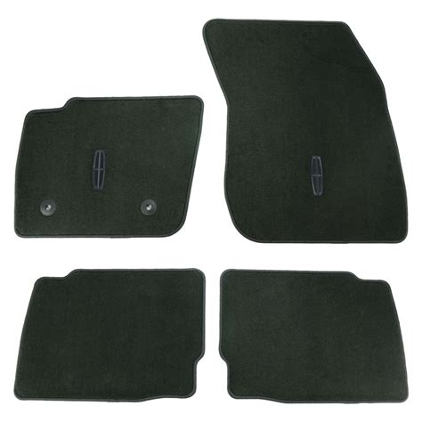 oem new 2013 2017 lincoln mkz logo embroidered floor mats