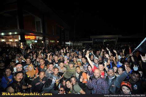 Kaos Harley Davidson Kuala Lumpur hdkl organises sahur ride to celebrate world ride day