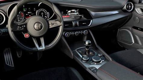 alfa romeo giulia interior alfa romeo giulia interior revealed on autoblog
