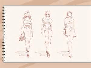 Design Sketch For The how to sketch fashion designs 5 steps with pictures wikihow