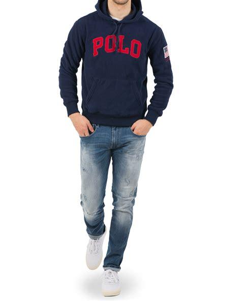 Hoodie Navy Polos polo ralph fleece hoodie navy hos careofcarl dk