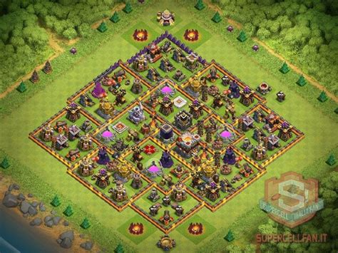 th11 clash of clans best base layouts dicembre 2016 18 layout th11 farming mini compilation