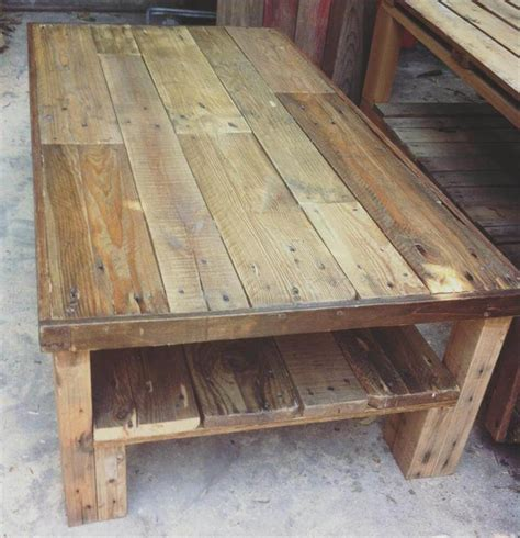 Pallet Coffee Tables Wood Pallet Coffee Table