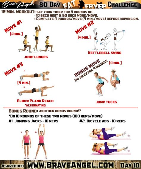 kettlebell swing challenge pin by brave angel on 30 day fat fryer challenge pinterest