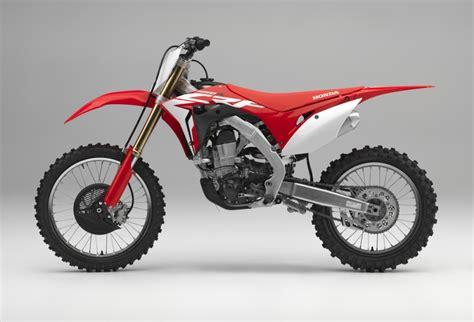 motocross bikes honda 2018 honda crf450r review specs changes crf