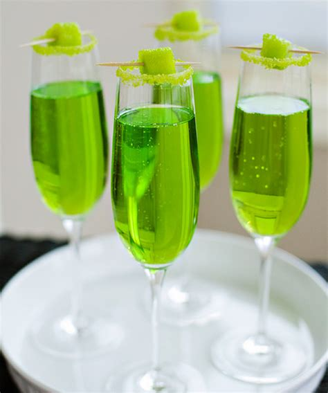 9 Great St S Day Cocktail Recipes Green