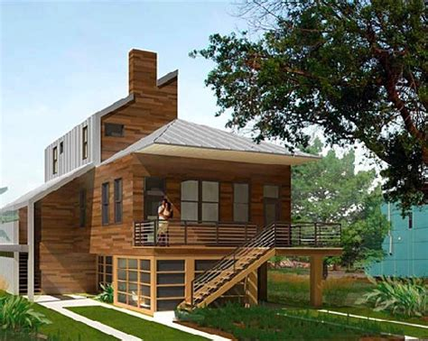 eco home design sustainable homes for katrina victims from brad pitt