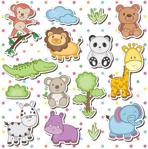 imagenes de animales bebes animados dibujos animales de la selva bebes buscar con google