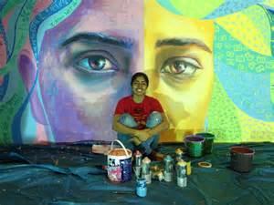 New York Wall Mural volunteer experience community art project on women s