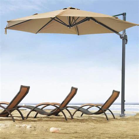 10 cantilever roma offset umbrella patio outdoor hanging - Umbrella For Patio