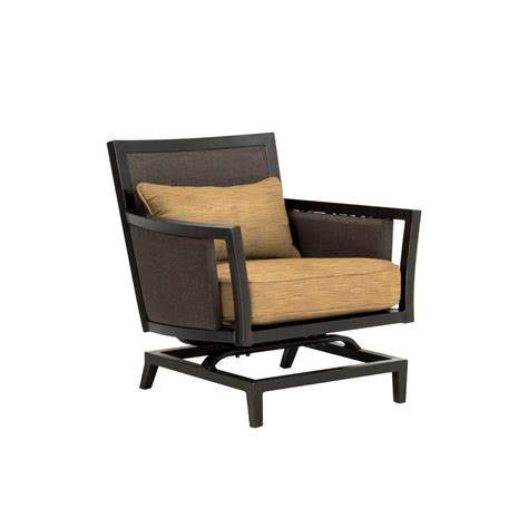c motion patio chair brown greystone patio motion lounge chair in toffee