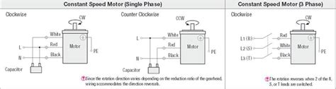 motor specifications and wiring diagrams fa mechanical