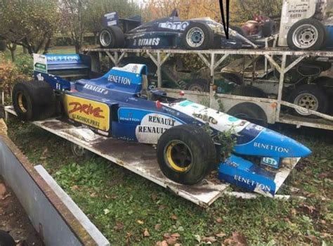 cars for sale in france barn find in france with multiple historic f1 cars