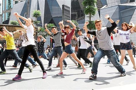 tutorial dance flash mob flash mob competition revives the spirit of michael