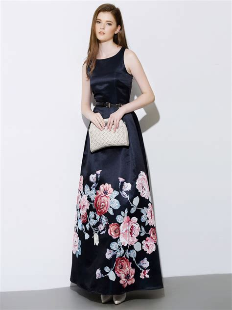 Best Quality Talullah Color Maxi Shirt Dress Belt Not Included All hight quality popular black floral print sleeveless belt