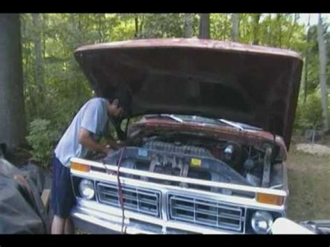 How To Hotwire A Ford by Wire And Cold Start A 1977 Ford F350 Truck