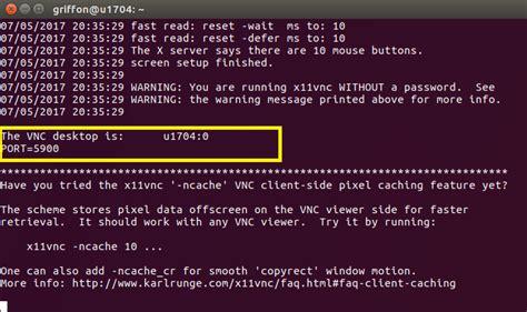 set up x11vnc server ubuntu ubuntu 17 04 configure x11vnc server to boot at startup
