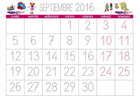 calendario julio 2016 para imprimir lunes tradicional calendario septiembre 2016