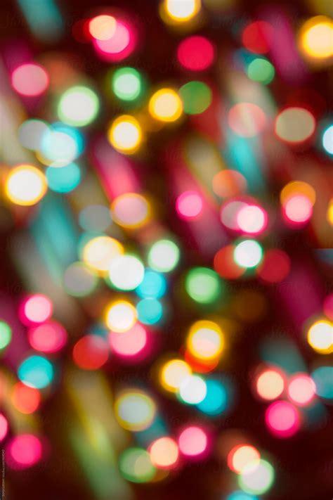 colorful party lights  blur background  sonja lekovic