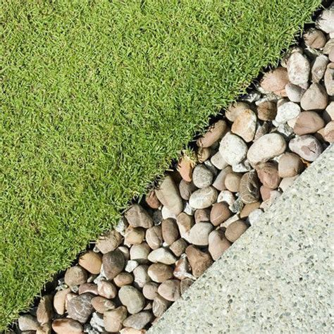 Pebbles And Rocks Garden 4 Pebble Border Garden Edging Strips Landscape Paths Step Stones Feature Ebay