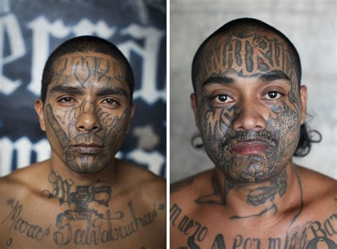 ms 13 tattoos photos of ms 13 members business insider