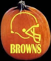 brown pumpkin template cleveland browns pumpkin